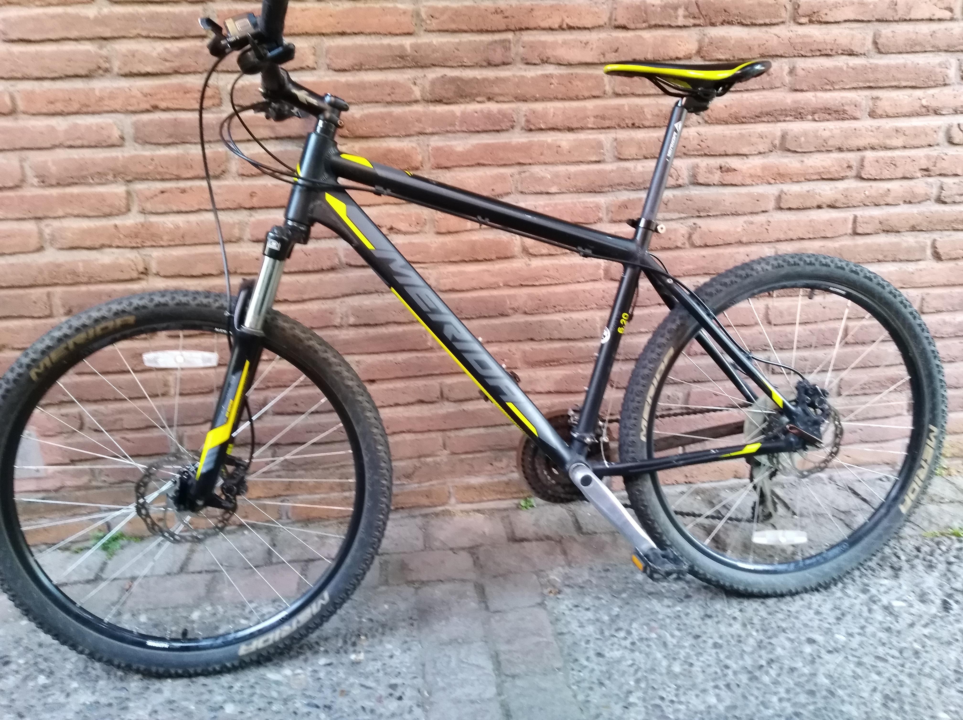 72b10047 Bicicleta Mtb Merida MATTS 6. 20-D Año 2015 26