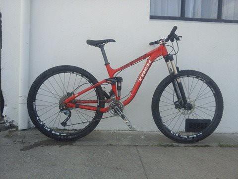 a581d35a784 Bicicleta All Mountain/Trail Trek Fuel Ex 4 Año 2014 27.5 - BikeMarket