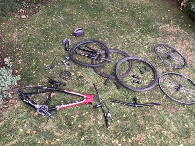Componentes para Armar Bicicleta