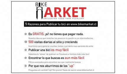 5 Razones para publicar en BikeMarket